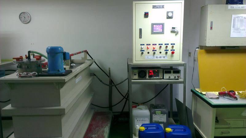 直立式電鑄機照4