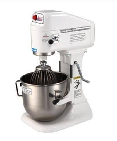 【IYC智能餐飲設備】IYC-P-8NS 八公升桌上型麵粉攪拌機-白鐵配件