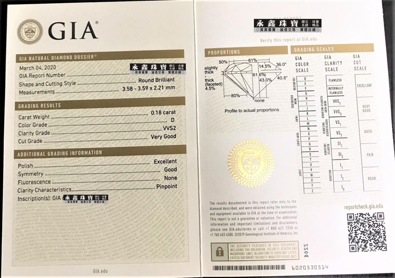 Cartier卡地亞 C DE CARTIER GIA鑽石項鍊 0.18ct D/VVS2 18K玫瑰金  n0761
