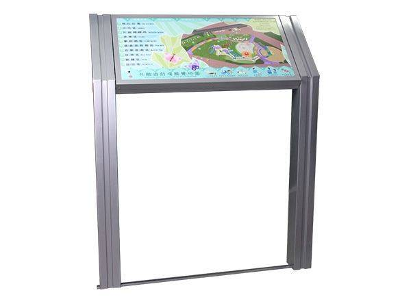 SJ-034DJ 盲人專用點字浮雕耐候導覽牌