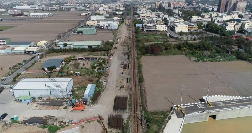 鐵路行車安全改善六年計畫(縱貫線山腳排水橋改建工程)