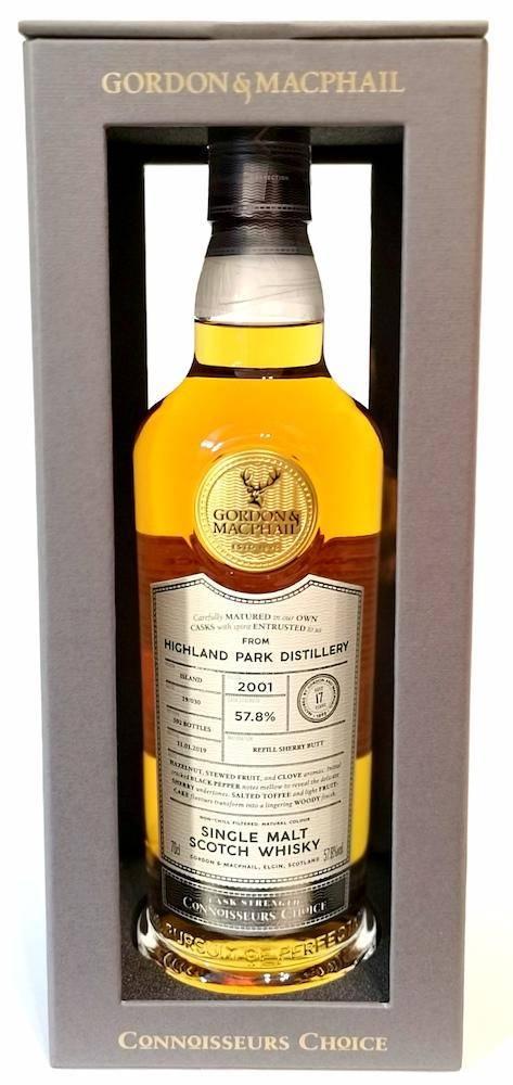 高原騎士 2001 17年單桶威士忌 Gordon & Macphail Highland Park 2001