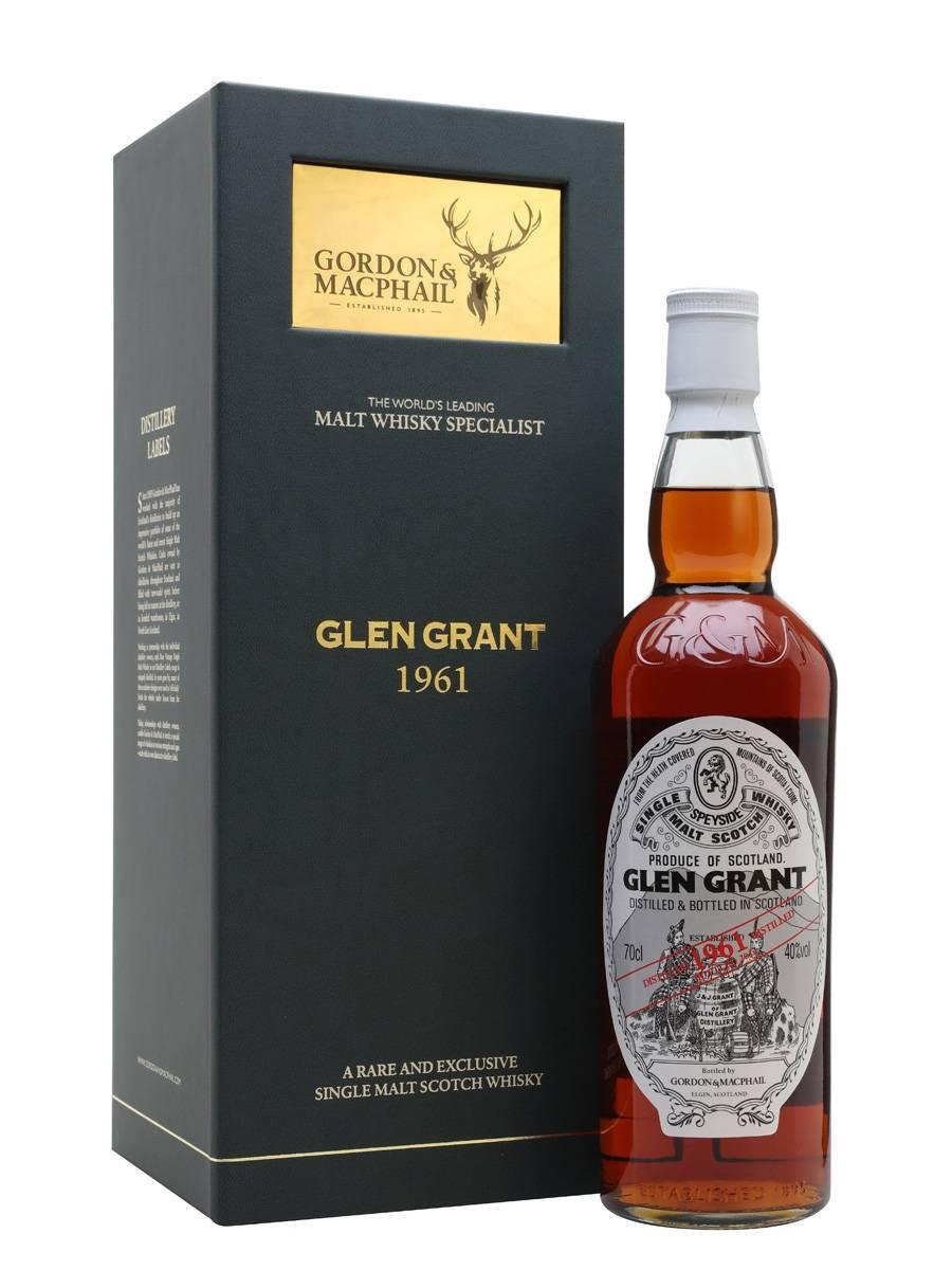 格蘭冠 1961 52年單一麥芽威士忌 Gordon & Macphail Glen Grant 1961